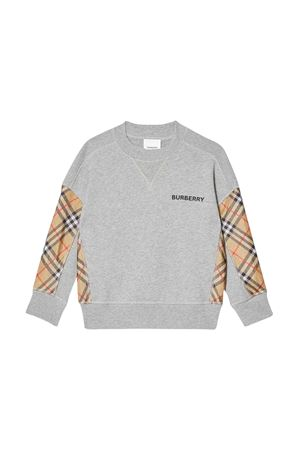 Pullover grigio Burberry kids BURBERRY KIDS | -108764232 | 8011054A1216