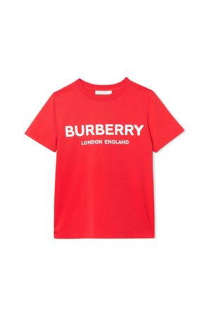 T-SHIRT ROSSA BAMBINO BURBERRY KIDS BURBERRY KIDS | 8 | 8011169A1460
