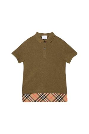 Polo verde kaki bambino Burberry kids BURBERRY KIDS | 2 | 8011448A1309