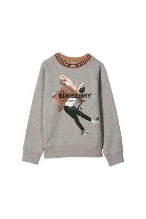 Burberry kids gray sweatshirt  BURBERRY KIDS | -108764232 | 8011692A1216