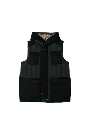 Gray and black vest Burberry Kids  BURBERRY KIDS | 13 | 8011842A1208