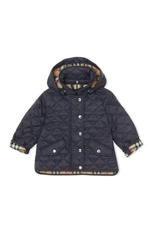 BLUE NEWBORN JACKET BURBERRY KIDS  BURBERRY KIDS | 13 | 8011874A1222