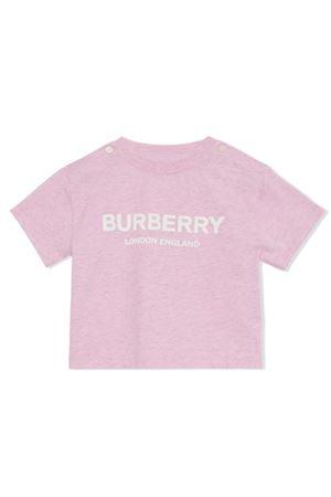 PINK GIRL T-SHIRT BURBERRY KIDS  BURBERRY KIDS | 8 | 8011945A7121