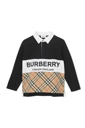 POLO NERA BAMBINO BURBERRY KIDS BURBERRY KIDS | -108764232 | 8012393A1189