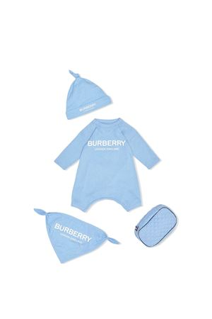 Burberry kids blue baby set  BURBERRY KIDS | 75988878 | 8013868A2167
