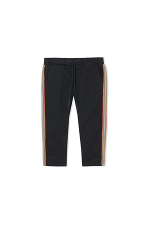 BURBERRY KIDS NEWBORN BLACK CHINO PANTS BURBERRY KIDS | 9 | 8014051A1189