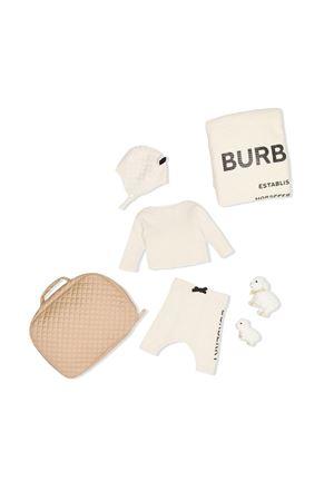 Baby ivory Burberry kids kit  BURBERRY KIDS | 75988878 | 8014396A1452