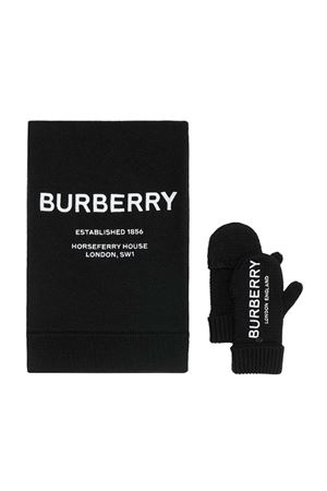 Black Set Burberry kids  BURBERRY KIDS | 890742042 | 8015713A1189