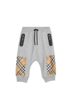 Burberry kids newborn gray trousers  BURBERRY KIDS | 9 | 8016317A1216