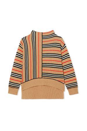 Burberry kids sand asymmetric sweater  BURBERRY KIDS | 1 | 8017879A7026