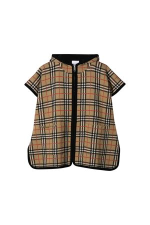 Tartan cape with black details Burberry kids BURBERRY KIDS | 52 | 8017882A7026