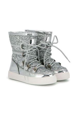 Stivali da neve con glitter argento Chiara Ferragni Kids CHIARA FERRAGNI KIDS | 12 | CFB038004ARGENTO