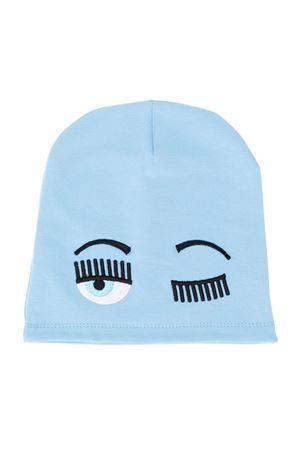 Berretto Winking Eye azzurro Chiara Ferragni kids CHIARA FERRAGNI KIDS | 75988881 | CFKC003CIELO