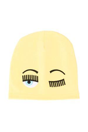 Berretto Winking Eye giallo Chiara Ferragni kids CHIARA FERRAGNI KIDS | 75988881 | CFKC003GIALLO