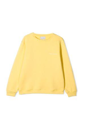 Felpa gialla con patch posteriore Chiara Ferragni kids CHIARA FERRAGNI KIDS | -108764232 | CFKF015GIALLO
