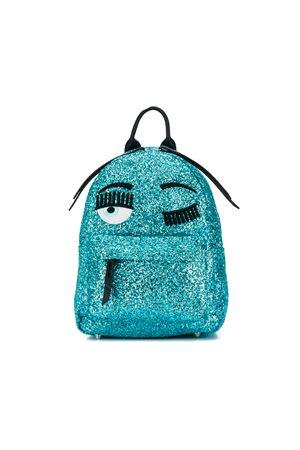 Zaino Winking Eye azzurro glitter Chiara Ferragni kids CHIARA FERRAGNI KIDS | 279895521 | CFZ004CIELO