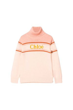 PINK SWEATER CHLOÈ KIDS TEEN  CHLOÉ KIDS | -1384759495 | C15A7844BT