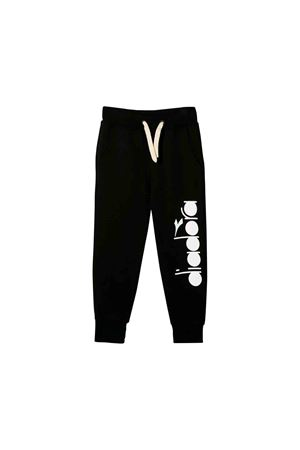 Diadora black teen junior jogging pants  DIADORA JUNIOR | 9 | 021254110T