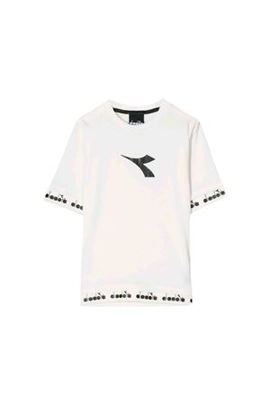 T-shirt bianca Diadora junior teen DIADORA JUNIOR | 7 | 021286002T