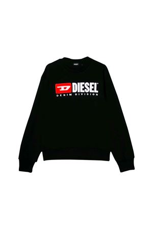 BLACK DIESEL KIDS TEEN SWEATER  DIESEL KIDS | -108764232 | 00J48E0IAJHK900T
