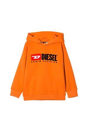 Orange Diesel kids sweatshirt DIESEL KIDS | -108764232 | 00J48G0IAJHK262