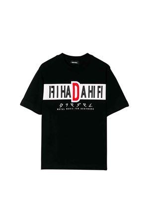 T-shirt nera bambino Diesel Kids DIESEL KIDS | 7 | 00J4FW0091BK900