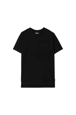 T-shirt nera Diesel kids teen DIESEL KIDS | 7 | 00J4FZ0CATMK900T