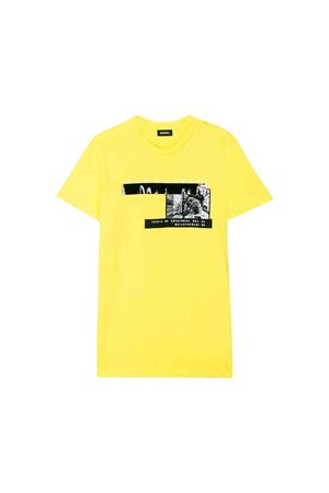 Yellow Diesel Kids teen t-shirt  DIESEL KIDS | 7 | 00J4G20CATMK261T