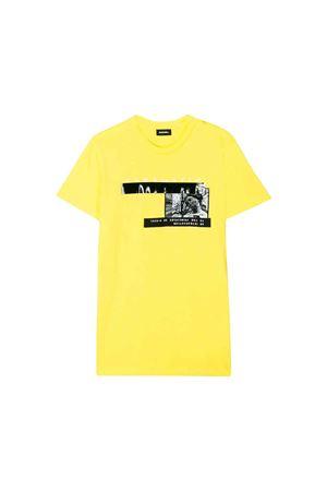 T-shirt gialla Diesel Kids teen DIESEL KIDS | 7 | 00J4G20CATMK261T