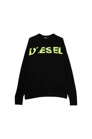Black Diesel kids teen sweater  DIESEL KIDS | 7 | 00J4GNKYAPYK900T