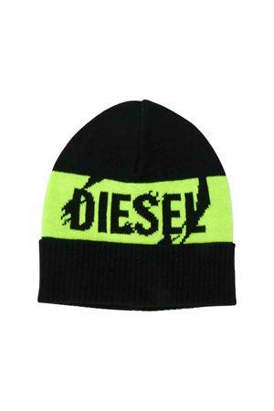 Black Diesel kids cap DIESEL KIDS | 75988881 | 00J4H40NABQK900