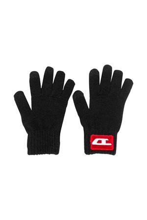 Set black Diesel kids gloves + scarf  DIESEL KIDS | 34 | 00J4H9KYAP1K900
