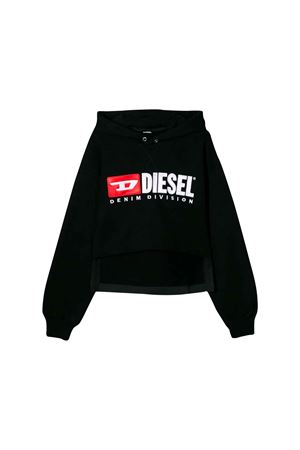 BLACK SWEATSHIRT GIRL DIESEL KIDS  DIESEL KIDS | -108764232 | 00J4IT0IAJHK900