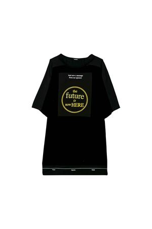 Diesel Kids teen black t-shirt dress  DIESEL KIDS | 11 | 00J4JHKXB1FK900T