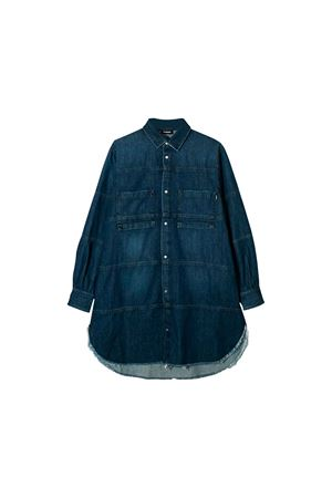 Diesel Kids girl denim dress DIESEL KIDS | 11 | 00J4JUKXB2QK01