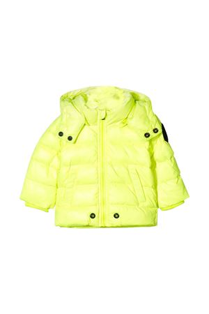 Fluo yellow down jacket Diesel kids  DIESEL KIDS | 3 | 00K21IKXB2TK263
