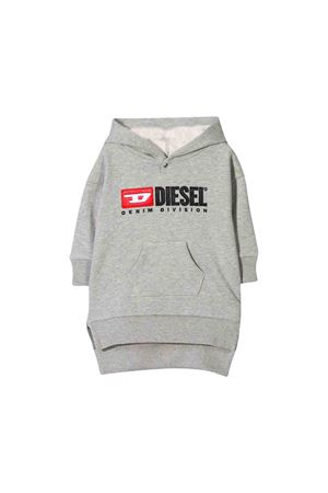 Gray Diesel kids sweatshirt dress  DIESEL KIDS | 11 | 00K22R0IAJHK963