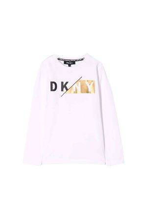 White DKNY kids teen sweater  DKNY KIDS | 8 | D25C5810BT