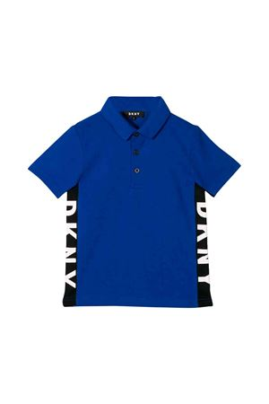Kids blue DKNY polo shirt  DKNY KIDS | 2 | D25C61865