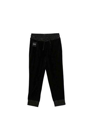 DKNY kids black sport trousers DKNY KIDS | 9 | D3496209B