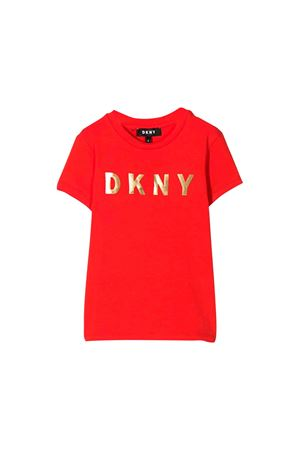 Red DKNY kids teen t-shirt  DKNY KIDS | 8 | D35Q19992T