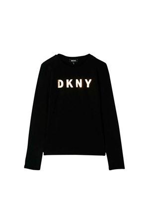 Black DKNY Kids teen t-shirt DKNY KIDS | 8 | D35Q2009BT