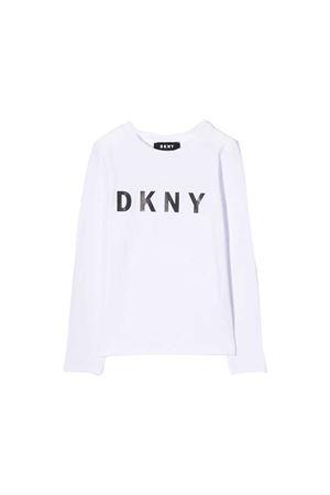 White DKNY Kids long sleeves sweater  DKNY KIDS | 8 | D35Q2010BT