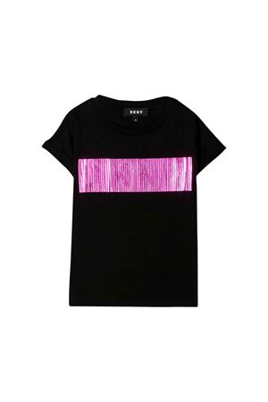 DKNY Kids black girl t-shirt  DKNY KIDS | 8 | D35Q2309B