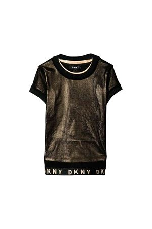 Gold DKNY Kids teen t-shirt  DKNY KIDS | 6 | D35Q30517T