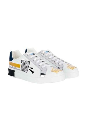 Dolce and Gabbana white teen sneakers Dolce & Gabbana kids | 12 | DA0678AA349HWF57T