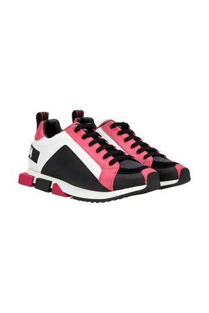 Dolce and Gabbana white sneakers kids teen  Dolce & Gabbana kids | 12 | DA0711AK6358G101T