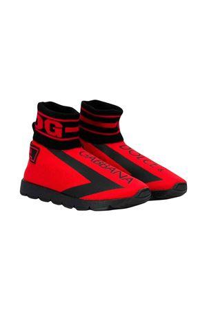 Red Socks shoes Dolce and Gabbana kids Dolce & Gabbana kids   12   DA0751AA10389854