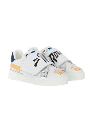 Dolce and Gabbana kids white sneakers  Dolce & Gabbana kids | 12 | DN0130AA349HWF57