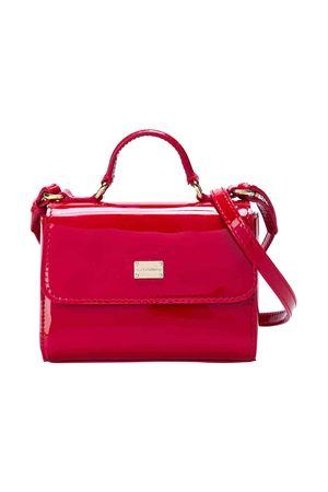 Borsa con tracolla in vernice rossa Dolce & Gabbana kids Dolce & Gabbana kids | 5032283 | EB0103A147187124
